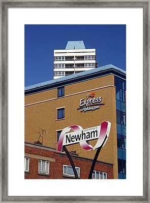 Newham Express Framed Print by Jez C Self