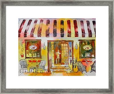 Newlins In Boca Grande Framed Print