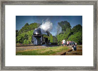 Newly Restored Steam Locomotive 2 Framed Print