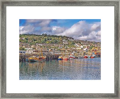 Newlyn Harbour Cornwall 2 Framed Print