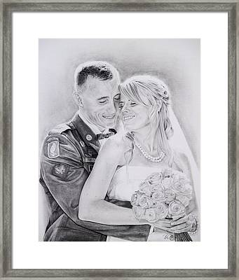 Newlywed Framed Print