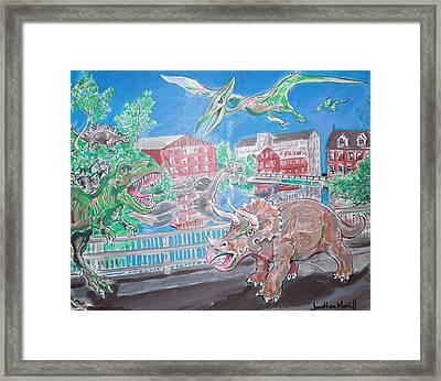 Newmarket One Million B.c. Framed Print