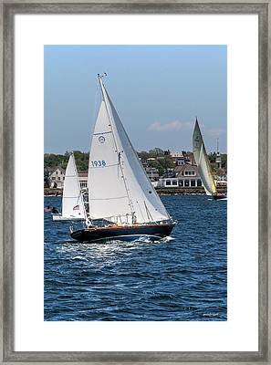 Newport Rhode Island Framed Print by Tom Prendergast