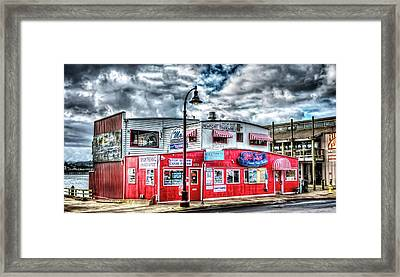Newport Tradewinds And Mo's Framed Print by Thom Zehrfeld