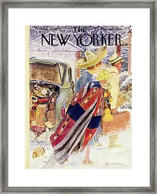 Newyorker January 31 1953 Framed Print