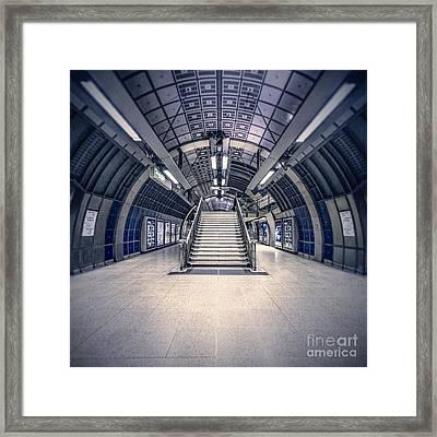 Next Flight Up Framed Print by Evelina Kremsdorf