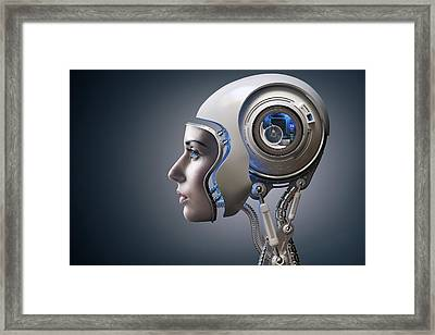 Next Generation Cyborg Framed Print
