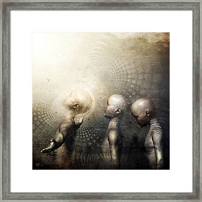 Next In Line Framed Print
