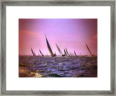 Next Stop Nantucket Framed Print