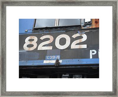 Framed Print featuring the photograph Next Stop by Susan Carella