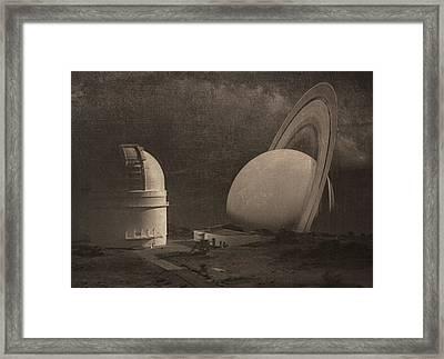 Next Universe Over Framed Print