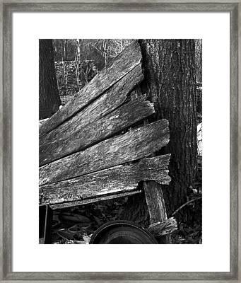 Nextdoorolddoor Framed Print by Curtis J Neeley Jr