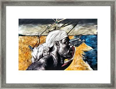 Nexus Framed Print by Chester Elmore