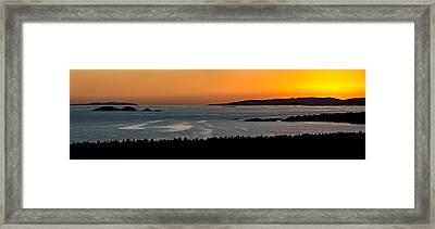 Neys Horizon Framed Print