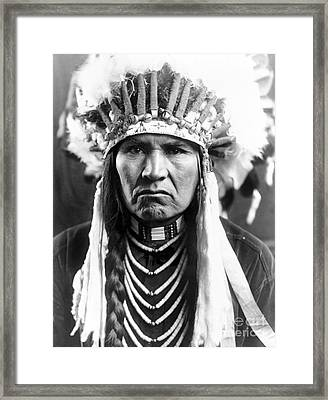 Nez Perce Native American Framed Print by Granger