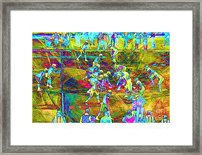 Nfl Football Red Zone Dsc3941 20151215 Framed Print by Wingsdomain Art and Photography