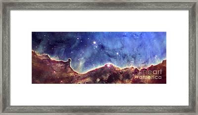 Ngc 3324  Carina Nebula Framed Print