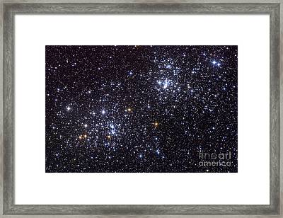 Ngc 884, An Open Cluster Framed Print
