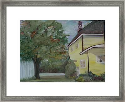 Nh Home  Framed Print by Pamela Wilson