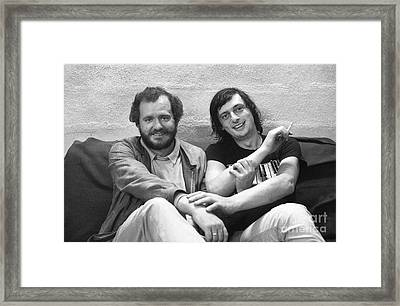 Nhop And Philip Catherine Hands Duet Framed Print