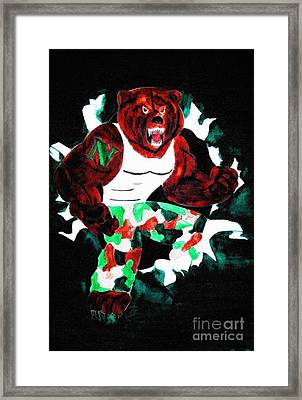 Nhs Bears In Color  Framed Print