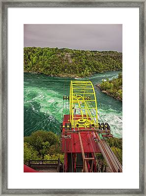 Niagara Cable Car Framed Print by Martin Newman