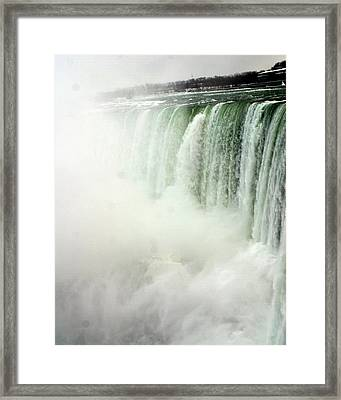 Niagara Falls 4 Framed Print by Anthony Jones