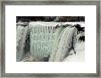 Niagara Falls 7 Framed Print by Anthony Jones