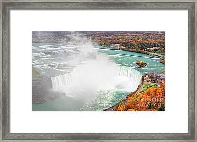Niagara Falls Autumn Framed Print