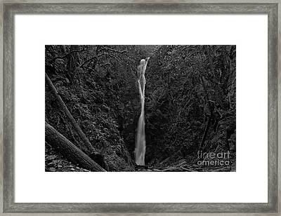 Niagara Falls, British Columbia Framed Print by Cendrine Marrouat