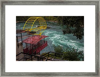 Niagara Falls Cable Car Framed Print