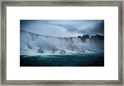 Niagara Falls Canada Framed Print by Martin Newman