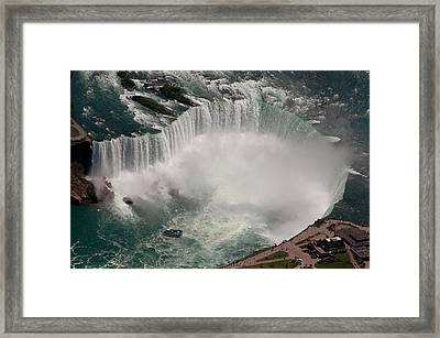 Framed Print featuring the photograph Niagara Falls by JT Lewis