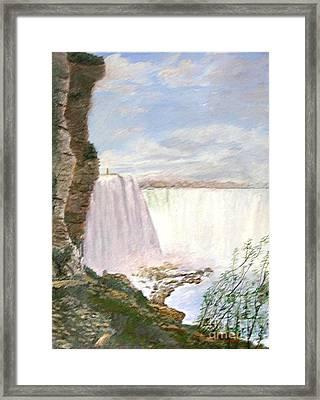Niagara Falls Framed Print by Nicholas Minniti