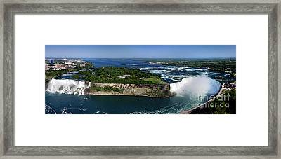 Niagara Falls Framed Print by Oleksiy Maksymenko