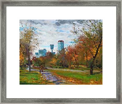 Niagara Falls Park Framed Print by Ylli Haruni