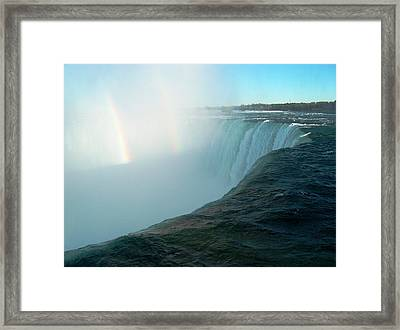 Niagara Falls Framed Print by Rita Tortorelli