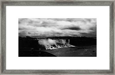 Niagara Falls - Small Falls Framed Print