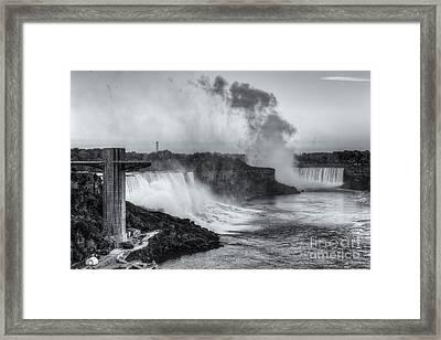 Niagara Falls Sunrise Light II Framed Print by Clarence Holmes