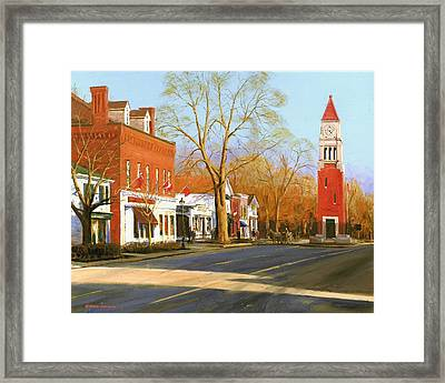 Niagara On The Lake Framed Print by Michael Swanson