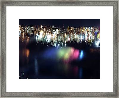 Light Paintings - Ascension Framed Print