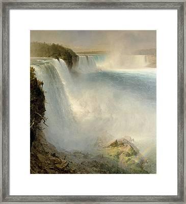 Niagra Falls Framed Print by Scott Anderson