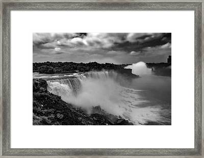 Framed Print featuring the photograph Niagra Falls by Jason Moynihan
