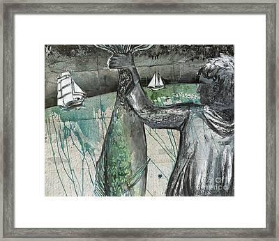 Nicaragua Fish-4-sale Framed Print