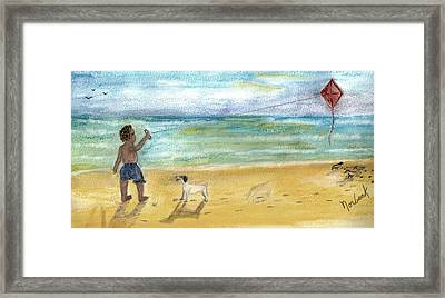 Nice Dog Framed Print by Thomas J Norbeck