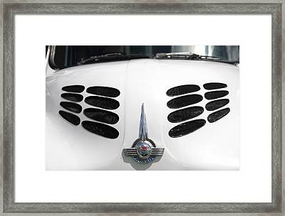Framed Print featuring the photograph Nice Grills by Stephen Mitchell