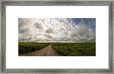 Framed Print featuring the photograph Nice Morning For A Drive by Scott Bean