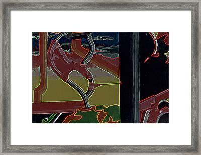 Nice Twice Framed Print by B and C Art Shop