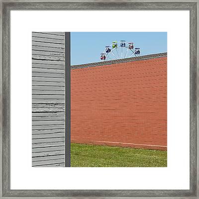 Nice View Framed Print by Jon Exley
