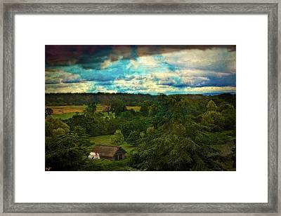 Nice Weather For Trolls In The Shire Today Framed Print by Chris Lord